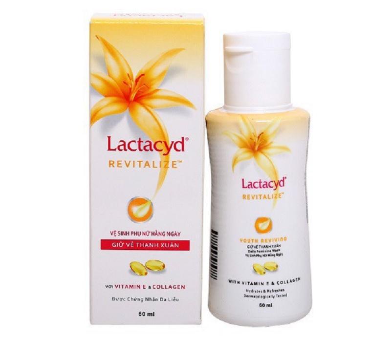 Dung dịch vệ sinh phụ nữ lactacyd có tốt không? Dung dịch vệ sinh phụ nữ Lactacyd Revitalize