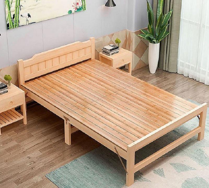 Giường gỗ gấp thông minh. Giường thông minh