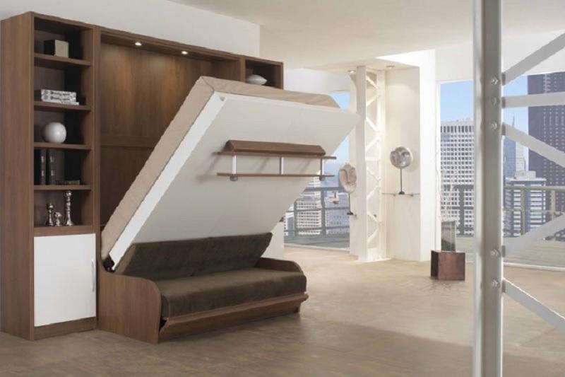 Giường ngủ thông minh kết hợp sofa. Giường thông minh