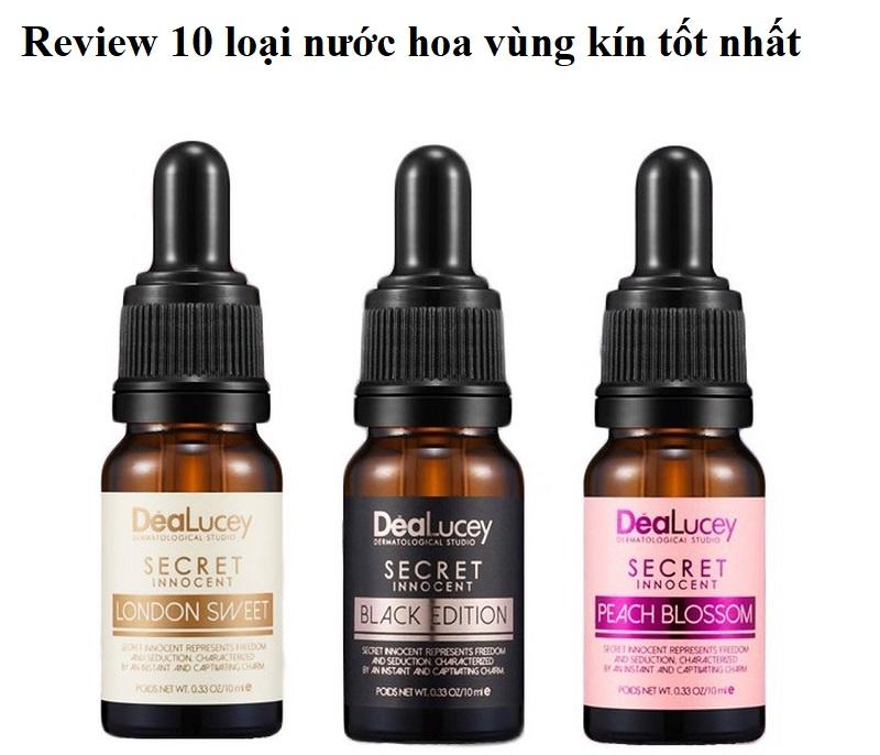 Nước hoa vùng kín cho nữ loại nào tốt? Review các loại nước hoa vùng kín thơm lâu, an toàn nhất