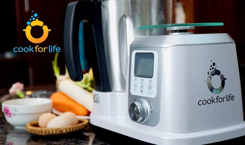Review máy nấu ăn đa năng Kitchen Robot. Kitchen robot có tốt không?