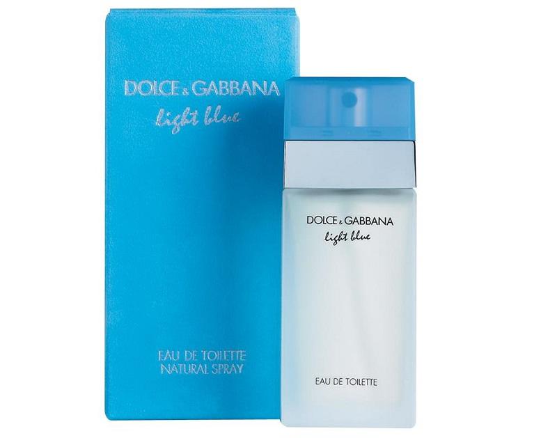 Nước hoa D&G Light Blue, những loại nước hoa có mùi nhẹ nhàng cho nữ