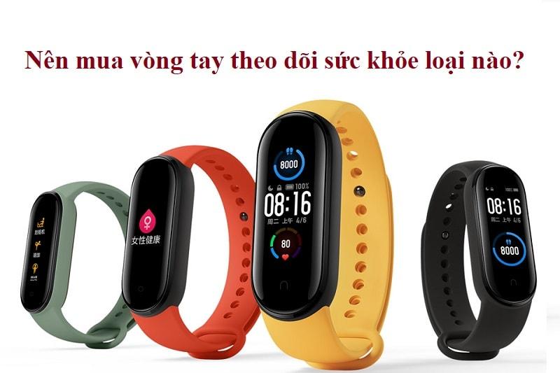 Vòng tay theo dõi sức khỏe loại nào tốt, giá bình dân? Vòng tay theo dõi sức khoẻ Mi Band 5 Xiaomi
