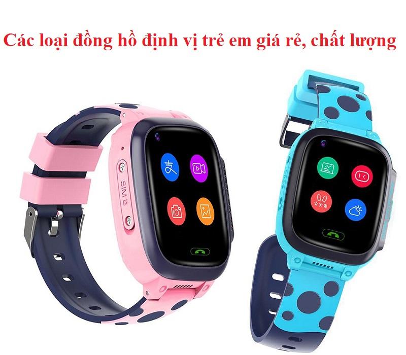 Review ưu nhược điểm các loại đồng hồ định vị trẻ em
